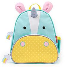 mochila con diseño de unicornio