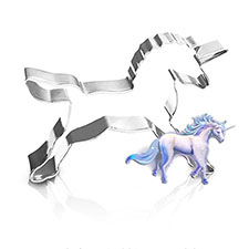 moldes con forma de unicornio