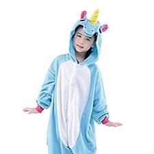 pijama con diseño de unicornio