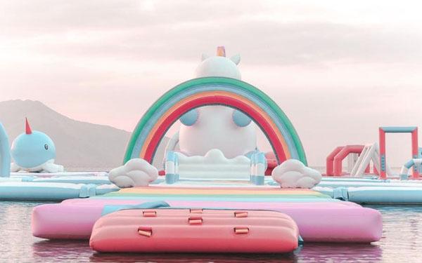 unicornio inflable