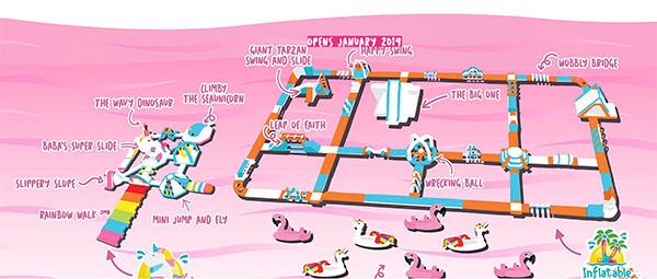 plano isla de los unicornios