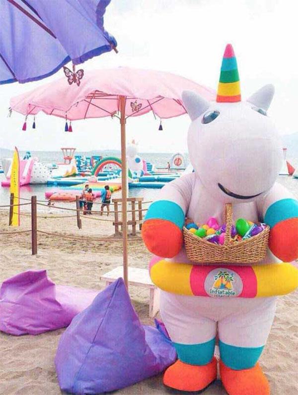 muñeco de unicornio grande