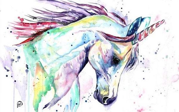colores de unicornios