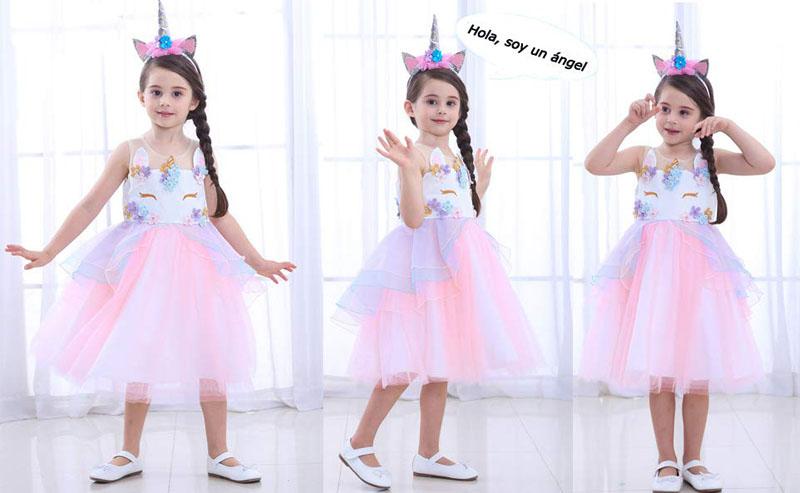 vestido de unicornio para cumpleaños