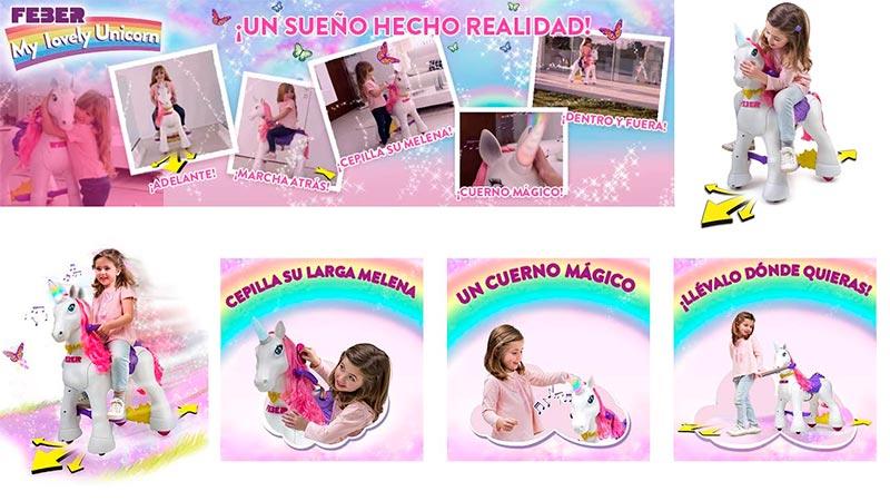 my lovely unicornio para niñas