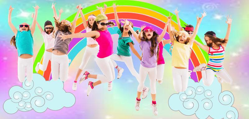fiesta de pijamas de unicornio para niñas