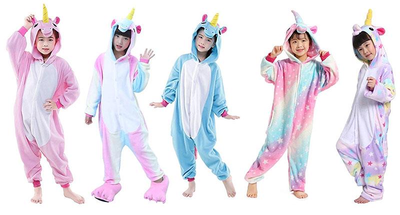 fiesta de pijamas unicornio