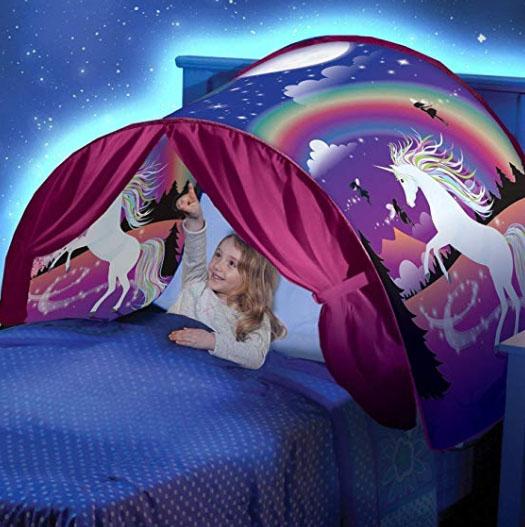 tienda campaña de unicornio niñas