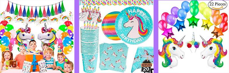 decoracion fiesta unicornio niña