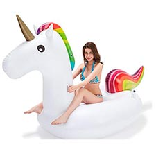 hinchable de unicornio