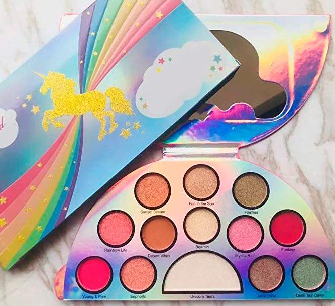 maquillaje de unicornio para niñas