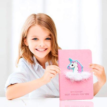 cuaderno de unicornio para niñas