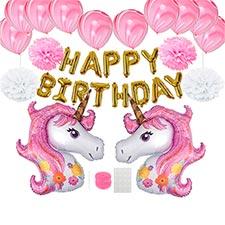 globos de unicornio