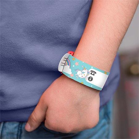 pulsera personalizada de unicornio