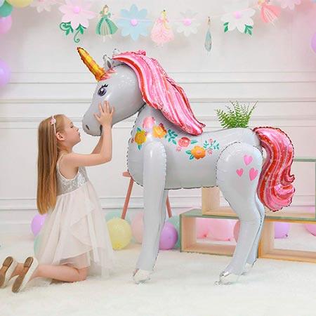 globos de unicornio grandes
