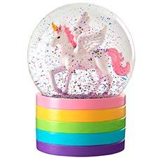 bola de nieve de unicornio