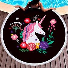 toallas de unicornio