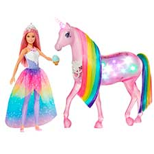 barbie con unicornio