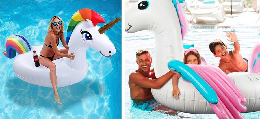 flotadores de unicornio