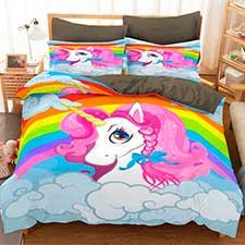 ropa de cama unicornio