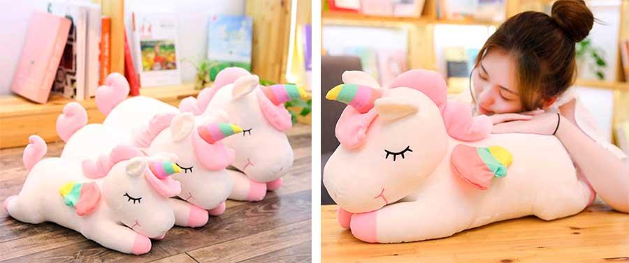 cojines de unicornio para niñas