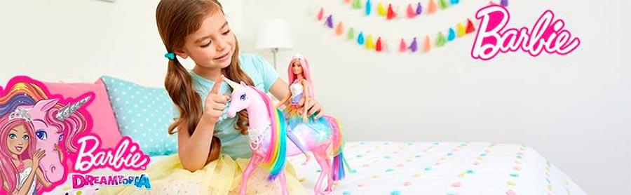 barbie dreamtopia con unicornio
