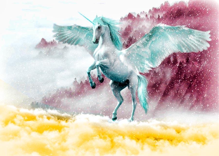 Que significa un unicornio de colores